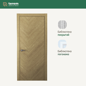 "Interior door factory ""Terem"": Union 05 model (Design collection)"