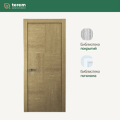 "Interior door factory ""Terem"": Union 06 model (Design collection)"