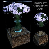 Bouquet vase decorative