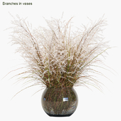Branches in vases # 7