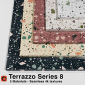 Terrazzo - Series 8 (5 Seamless Materials)
