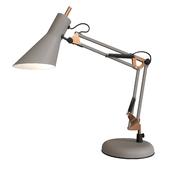 Офисная настольная лампа серого цвета Norden 01032/1
