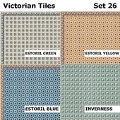 Topcer Victorian Tiles Set 26
