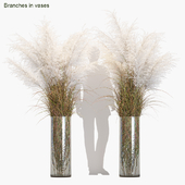Branches in vases #8
