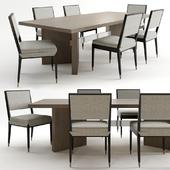 Calvin table and tivoli chair