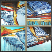Paintings abstract | set 423