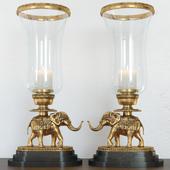 vintage,elephant,lamp