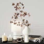 Autumn decorative set