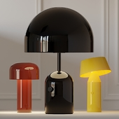 Bellhop, Bicoca and Bell Table Lamps in Several Colors