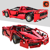 LEGO Enzo Ferrari 01