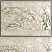 Decorative Panel Gold