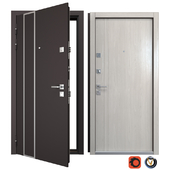 Entrance metal door Tower (Your Frame)