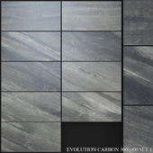 Yurtbay Seramik Evolution Carbon Set 1