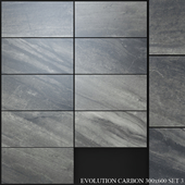 Yurtbay Seramik Evolution Carbon Set 3