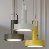 Arne Domus LED Pendant Light By Santa & Cole