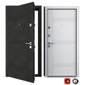Entrance metal door Trio (Your Frame)