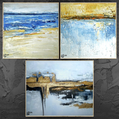 Paintings abstract | set 424