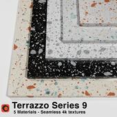 Terrazzo - Series 9 (5 Seamless Materials)