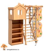 Children's sports complex (model 118)