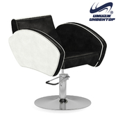 "OM Hairdressing chair ""Elite"" with edging"