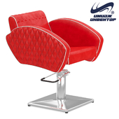 "OM Hairdressing chair ""Elite"" with stitching"