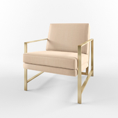 Metal Frame Upholstered Chair_Westelm