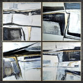 Paintings abstract | set 425