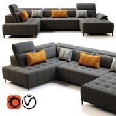 Wersal Calvaro XL Sofa