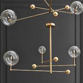 Подвесной светильник Globe Mobile 3 brass