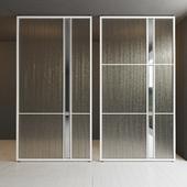 Glass partition door 32