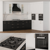 NeoClassic Kitchen  Black And White