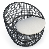 Nest Black Arm chair