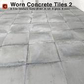 Worn Concrete Tiles - 2