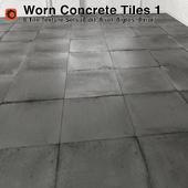 Worn Concrete Tiles - 1