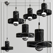 marble black  light