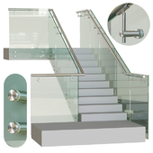 Spotted glass railing 5