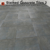 Stained Concrete Tiles - 2