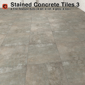 Stained Concrete Tiles - 3