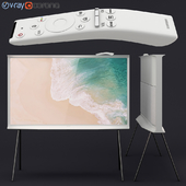 Samsung QLED The Serif TV white