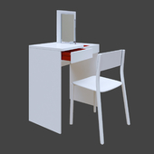 IKEA, BRIMNES dressing table