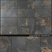 Yurtbay Seramik Kayah Rust 300x600 Set 1