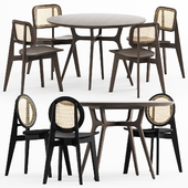 CANE CHAIR - 01, 02, REN DINING TABLE C1100