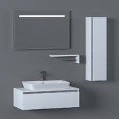 Bathroom Furniture Set - 25 |  Baco Plus 90
