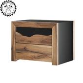 Marshall bedside table - WoodCraftStudio