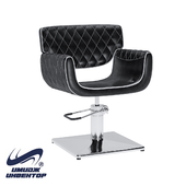 """OM Hairdressing chair """"Image"""" with edging"""