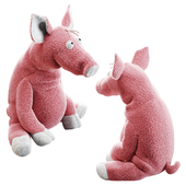 "Soft toy SIGIKID Pig ""Career Sau"" by DeZonnewijzer"