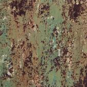 Wonderful red green rusty metal