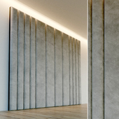 Декоративная стена. Мягкая панель. 74
