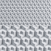 3D Panel - Celosia - Miranda Zevallos Johnson (low poly)