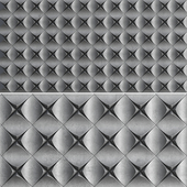 3D Panel - ROZETKA (low poly)